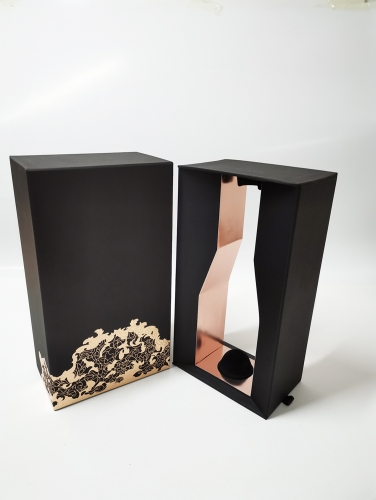 Special paper Sliding Wine box