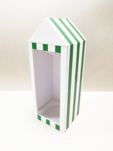 MCYK printing House shape special-shaped Wind box
