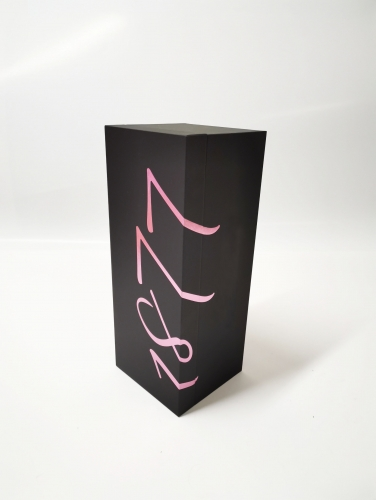 Rose Hot stamping Magnet closing Clamshell Wine box