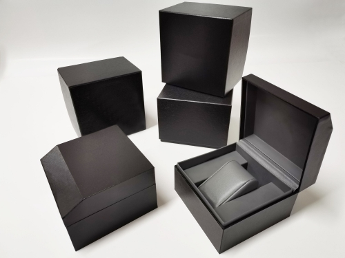 Luxury Custom Plastic Specialty paper Watch Box Factory Price Display Packaging Box