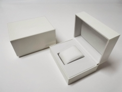 Wholesale Luxury Square White Watch Gift Box for Men Watch Packaging Box
