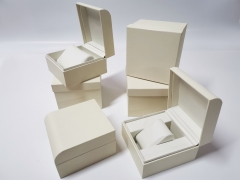 Elegant Custom Plastic Specialty paper Watch Boxes Factory Price Double Watch Display Packaging Boxes