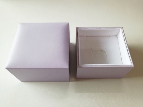 KA MEI Paper Board Pink White Luxury Jewelry Set Packaging Gift Box For Jewellery