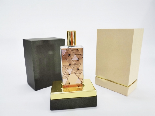 Luxury Custom Logo Printed Perfume Box Design Paper Gift Packaging Cardboard Bottle Perfume Box