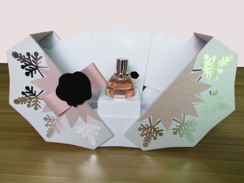 Octagonal design packaging high-end special edition perfume box
