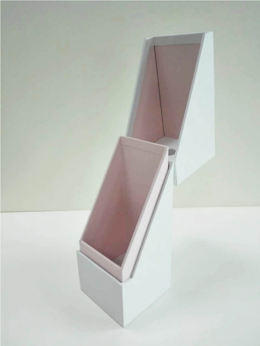 Skew notch Design Soft touch paper Perfume box