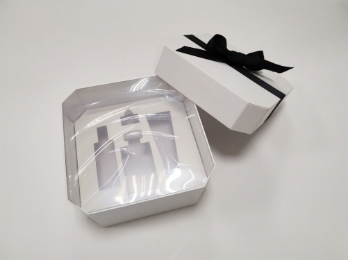 Custom Luxury Packaging Box Coated Paper Bow Tie Gift Box