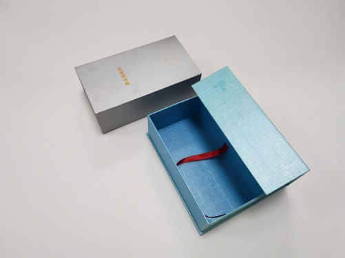 Book style open special paper gift box