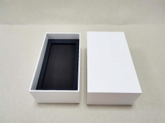 White Top and lid box Cheap Watch box