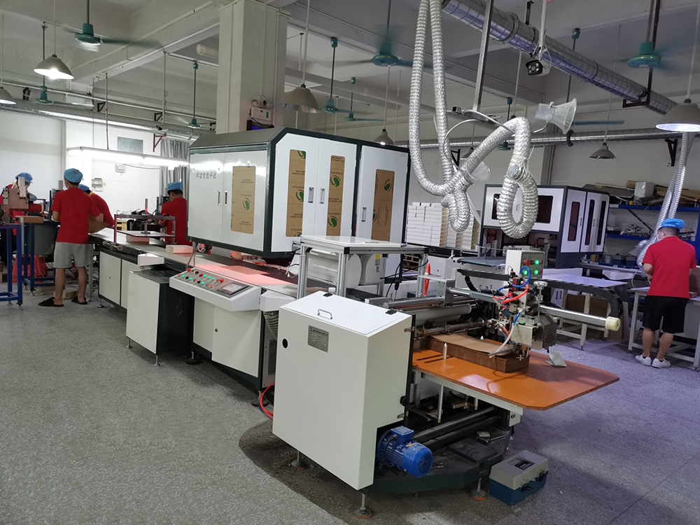 600A intelligent hardbound production line (optional)